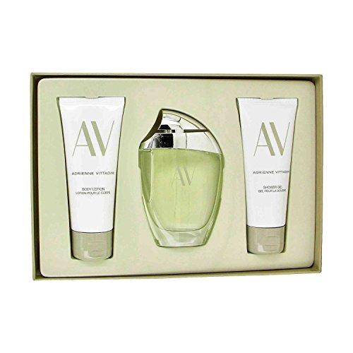 av-de-adrienne-vittadini-3-piece-gift-set-for-women-eau-de-parfum-spray-90-ml-body-lotion-100-ml-sho