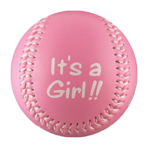 It's A Girl! T-Ball (Rubber Core)