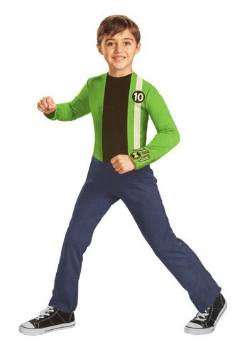 Playtime Ben 10 Alien Costume Fun (4-6 Child)