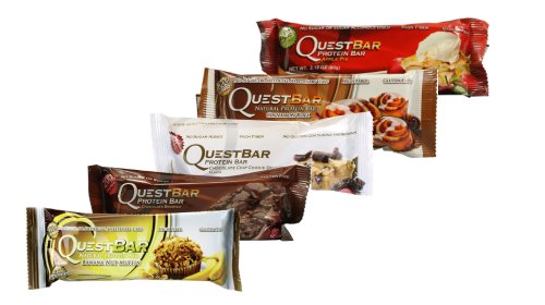 Quest Bar 5 Pack Sampler Bakery (Quest Bar Sugar Free compare prices)