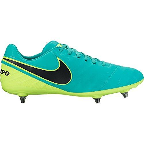 Nike Men's Tiempo Legacy II FG Soccer Cleat (Sz. 10.5) Clear Jade (Tiempo Nike Ii compare prices)