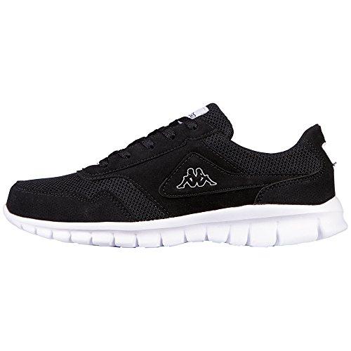 kappa-unisex-erwachsene-bilbao-ii-sun-sneakers-schwarz-1110-black-white-38-eu
