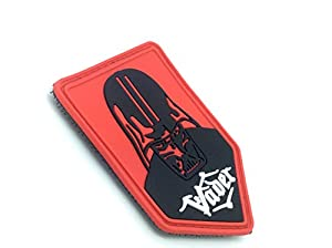 Star Wars Vader Airsoft Velcro PVC Patch