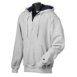 Champion 90/10 Cotton-Max Quarter-Zip Hood