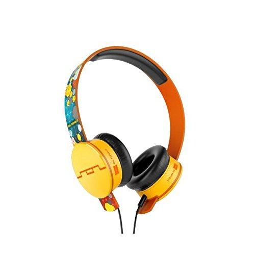 Sol Republic Tracks Deadmau5 On-Ear Headphone With V10 Engine (Orange/Yellow)