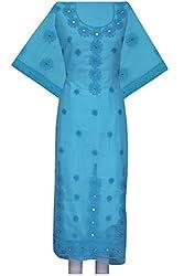 ADA Women Ethnic Lucknow Chikan Traditional Kurta Dress Material A105845