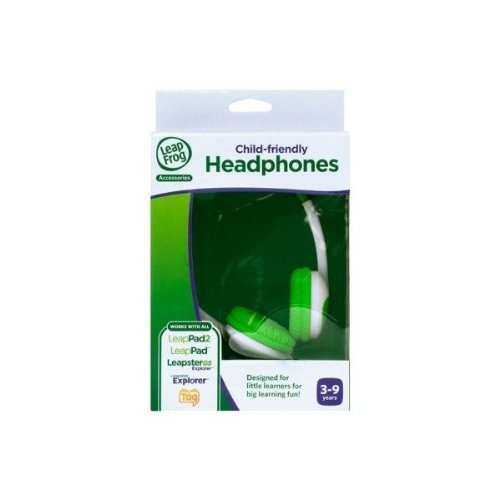 Leapfrog Headphones, Green. For Leap Pad 2