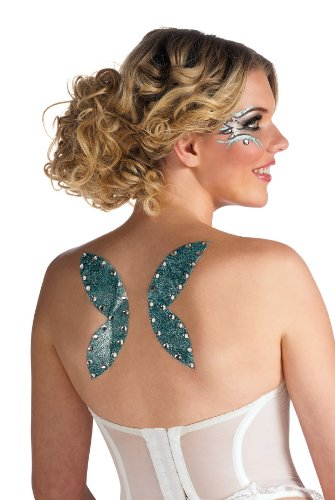 Rubies Fairy Wings  Glitter Tattoo