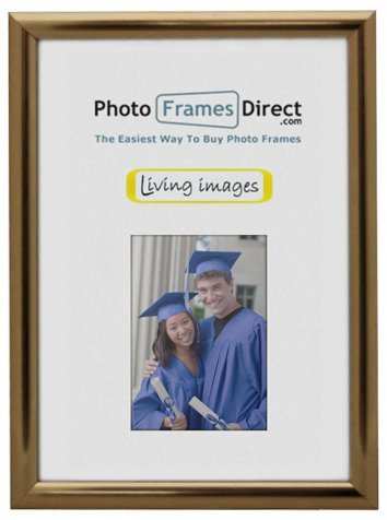 Box of 24 Gold A4 Certificate Photo Frames by Living Images