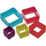 Five Piece Square Cookie Cutter Set