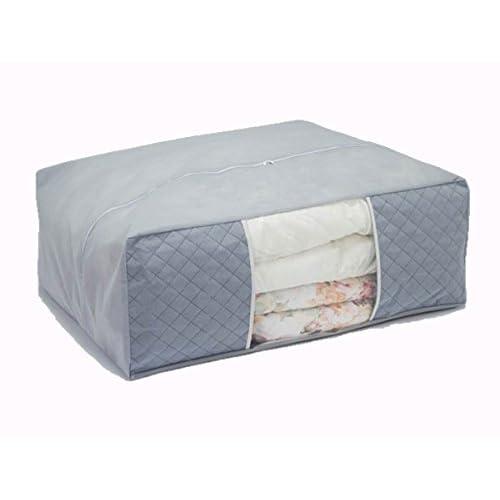 Storage Style  快適収納 炭入り 布団収納ケース 布団が2枚入る特大サイズ 厚手不織布製 炭シート入