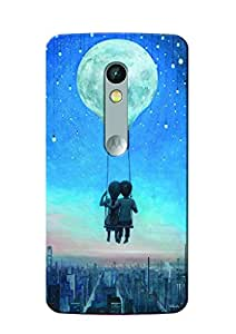 Sowing Happiness Printed Back Cover For Moto X Play