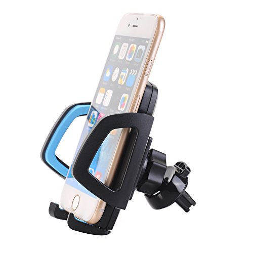 Car Phone Mount - U-good Universal 360 Rotating Air Vent Cell Phone Holder Stand Car Accessories w A Quick Release Button For iPhone Samsung Galaxy Note and More