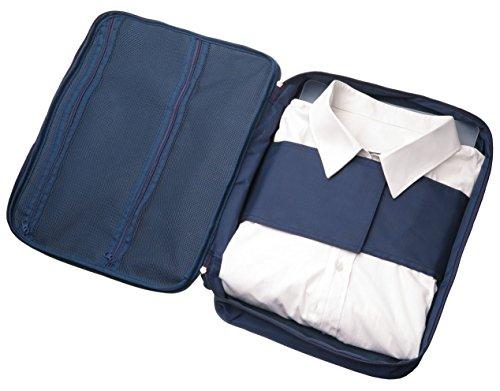 Hemdentasche für knitterfreie Hemden auf Reisen, ideal für...