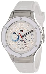 Tommy Hilfiger Women's 1781310 Sport Lux Multi-Eye Crystals on Bezel Watch