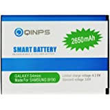 Kinps®High Capacity Battery spare replacement extra long life 2650mAh for Samsung Galaxy S4 SIV Mini GT-i9190 - White