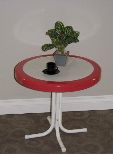 4D Concepts 71520 Metal Retro Round Table picture