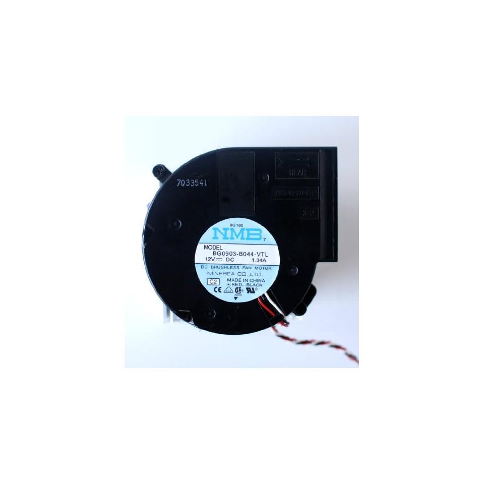 NMB BG0903 B044 VTL 12V 1.34A DC BRUSHLESS BLOWER FAN, 9G180, PBT GF30 FR, 3 WIRE