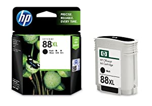 HP 88 Large Black Ink Cartridge Goes Into Officejet Pro K550 Series Printer