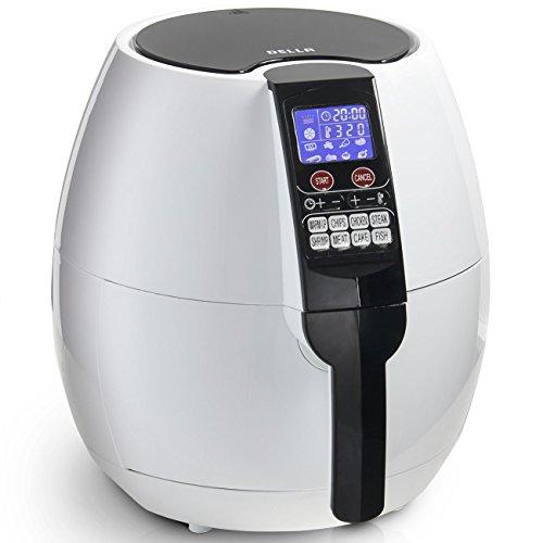 Della electric air fryer 1500w with digital controls for Air fryer fish