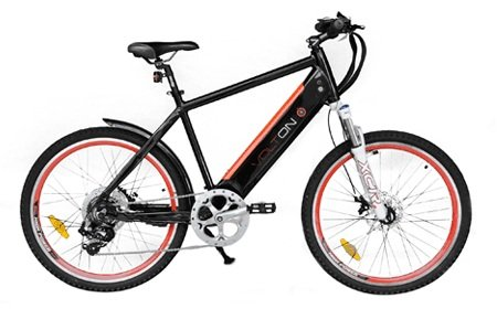 Volton Alation 500 - Electric Bicycles (Black)