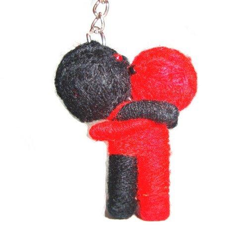 Hug Voodoo Doll String Doll Keychain Keyring
