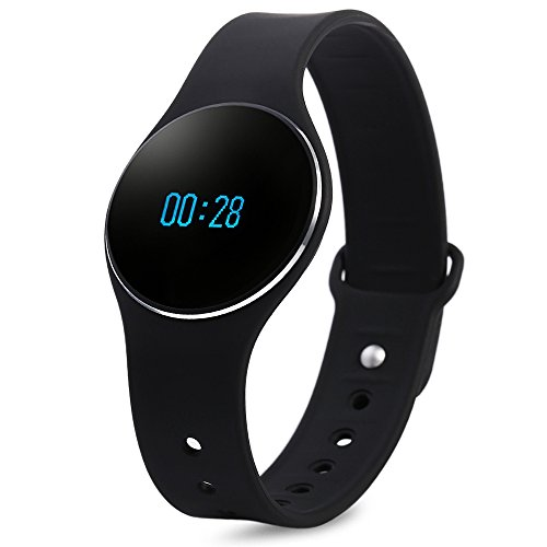 Bluetooth 4.0 Smart Bracelet Waterproof Sport Watch with SMS Reminder Sleep Fitness Tracker Calorie