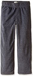 The Children\'s Place Big Boys\' Microfleece Pant, Charcoal Heather, Large/10/12