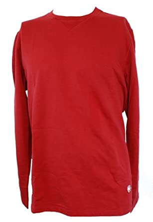 Nautica Long Sleeve Competition Shirt Red M