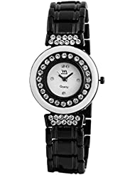 Watch Me Black Genuine Leather Analogue Watch For Men WMAL-076