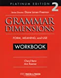 Grammar Dimensions 2, Platinum Edition Workbook