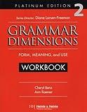 Grammar Dimensions 2, Platinum Edition Workbook (0838402747) by Benz, Cheryl