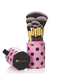 BH Cosmetics Pink-a-Dot Brush Set