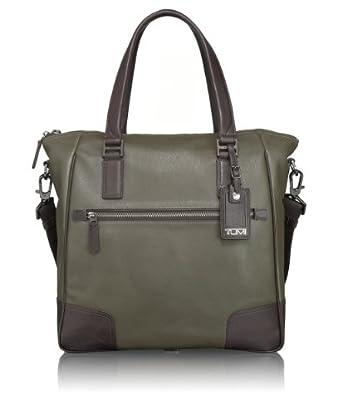 (狂跌)途米Tumi Luggage Beacon Hill男士顶级 精致商务真皮公文包棕$371.25
