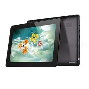 Ainol NOVO 10 Hero II 10,1'' Tablette PC Android 4.1 ATM 7029 Quad Core 1.5GHZ Ecran IPS Tactile 1Go 16Go Caméra Double Lithium 8000mAH WiFi Tablet Ordinateur (10.1'' Tablette, Noir)