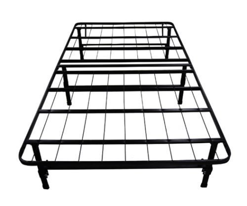 olee sleep metal platform foundation bed frame full no box spring needed by ebay. Black Bedroom Furniture Sets. Home Design Ideas