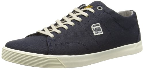 G Star Mens Dash III Avery Shoes GS50556/DHB Herringbone Denim 11 UK, 45 EU, 12 US