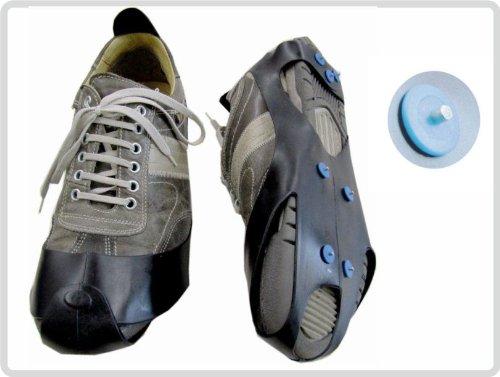 Schuhspikes Schuh-spikes Schneeschuhe Eiskrallen Sicher durch den Winter Größe: 41 - 45