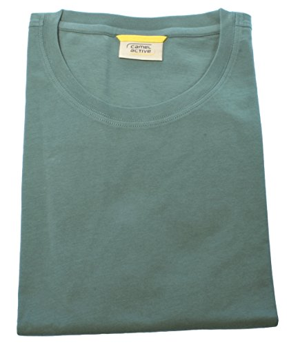 camel active Herren Shirt T-Shirt Kurzarm Regular