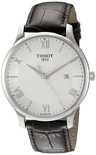 tissot-mens-leather-band-steel-case-swiss-quartz-silver-tone-dial-analog-watch-t0636101603800