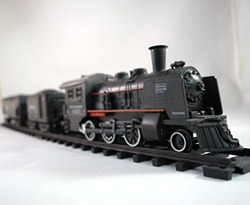 Railway-King-Electric-Steam-Locomotive-Classical-Train-Playset-with-Lights-and-Train-Sound-PARENT