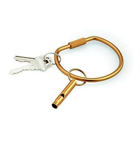 Perfect Solutions Easy-Grab Key Chain, Gold, One Size (Gold Whistle Chain compare prices)