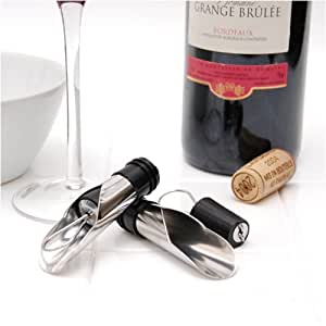 Wine Pourers by Cork Pops The Giovanni Collection