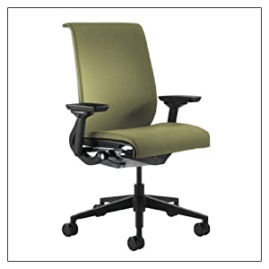 Steelcase Think Chair(R) - Buzz2 Fabric, color = Celery