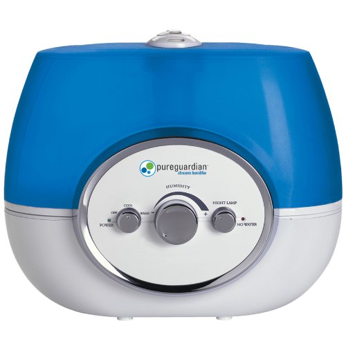 PureGuardian H1510 100-Hour Ultrasonic Warm and Cool Mist Humidifier, 1.5-Gallons - 1