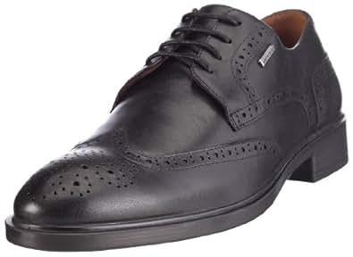 Geox U03Y8C 43 C9999 Uomo Loris WPF, Chaussures montantes homme - Noir black, 46 EU