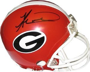 Knowshon Moreno signed Georgia Bulldogs Replica Mini Helmet by Athlon+Sports+Collectibles