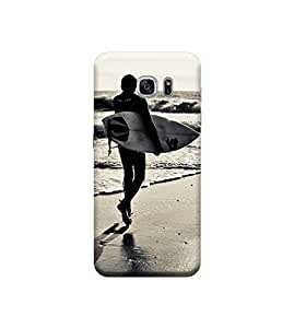 EPICCASE Premium Printed Back Case Cover With Full protection For Samsung Galaxy S7 Edge (Designer Case)