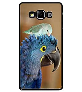 ColourCraft Cute Parrots Design Back Case Cover for SAMSUNG GALAXY A7