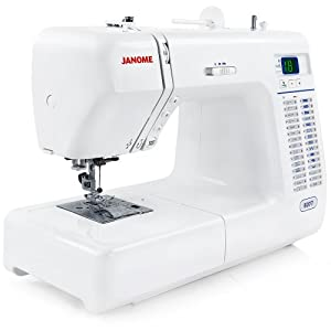 Janome 8077 Computerized Sewing Machine With 30 Built-in Stitches by Janome